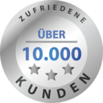 Bereits über 10.000 zufriedene Kunden
